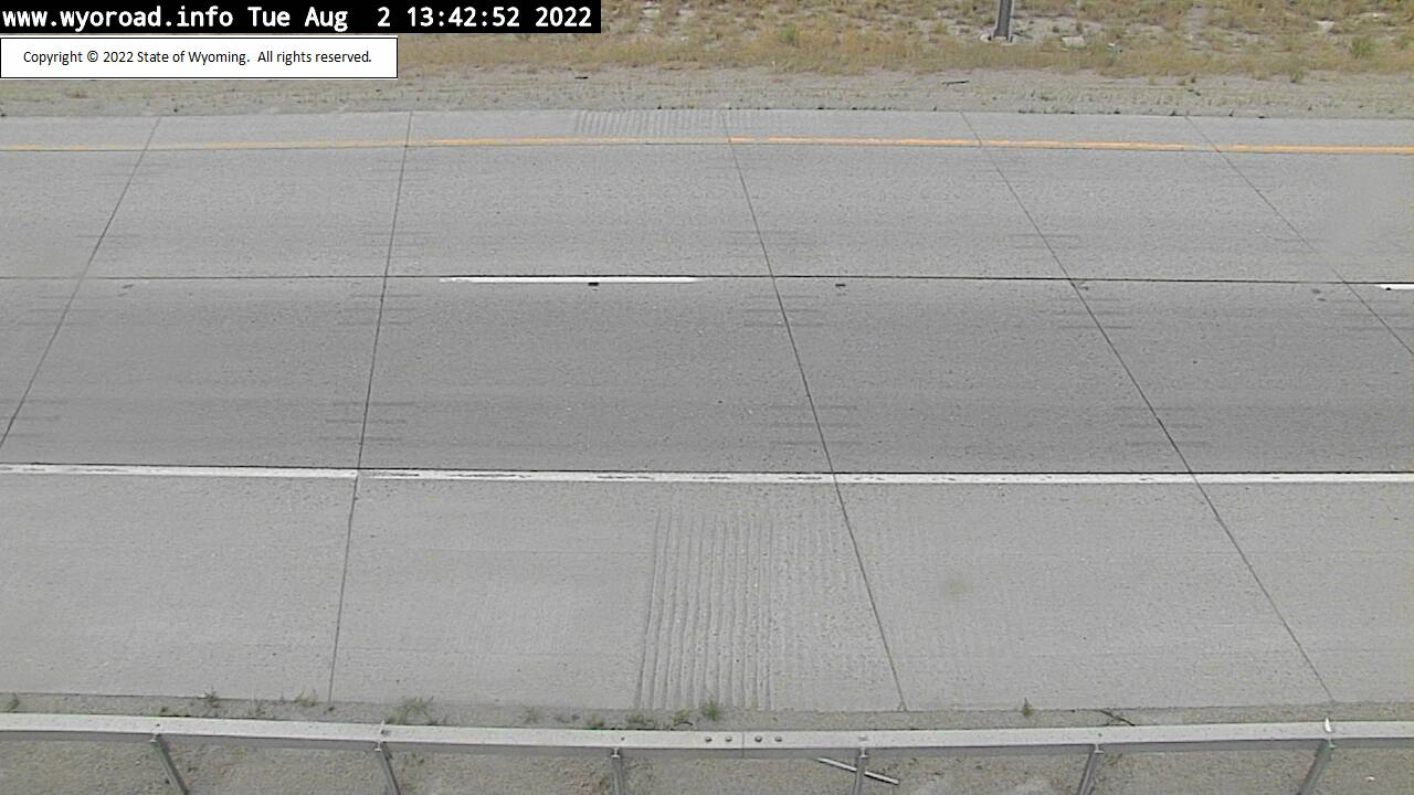 I 80 Green River Tunnel East - Road Surface