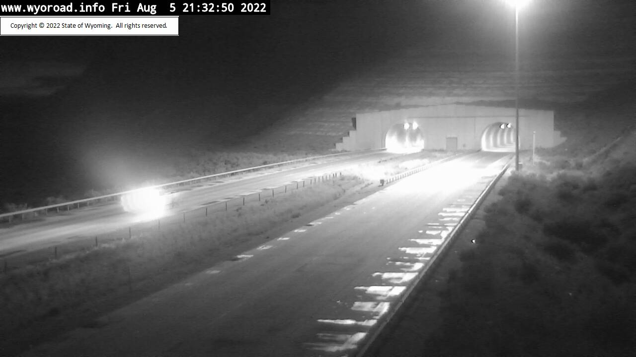 I 80 Green River Tunnel East - West