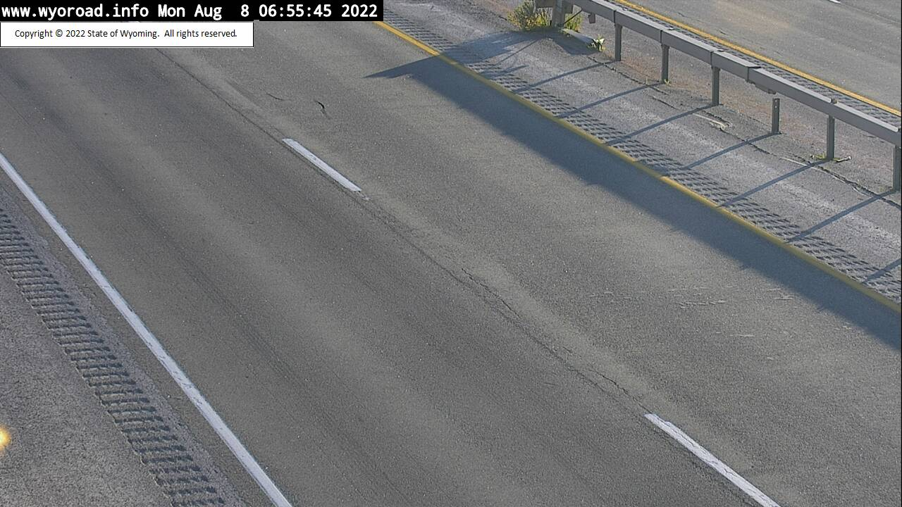 I 90 Gillette - Road Surface
