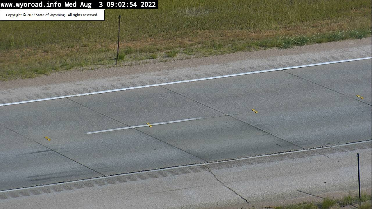 I90 Moskee Road - Road Surface