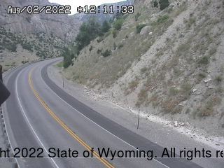US 20 Wind River Canyon - North