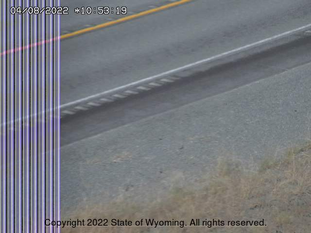 WYO 120 Meeteetse Rim - Road Surface