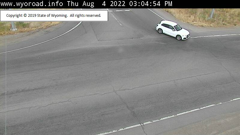 [WYO 22 / WYO 390 Junction - Intersection]