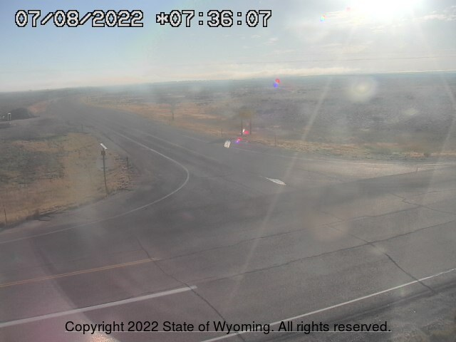 WYO 372 / WYO 28 Junction  - East