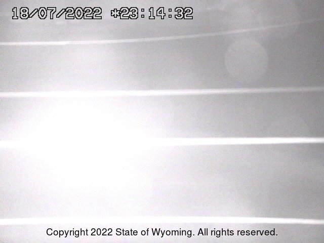 WYO 372 / WYO 28 Junction - Road Surface