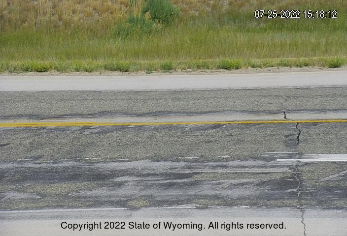 WYO 487 / WYO 77 Junction - Road Surface