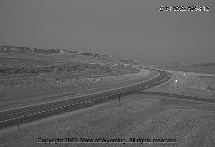 WYO 487 / WYO 77 Junction - South