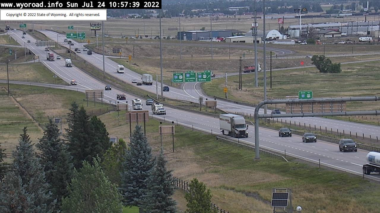 I 25 College Drive and I80 Interchange