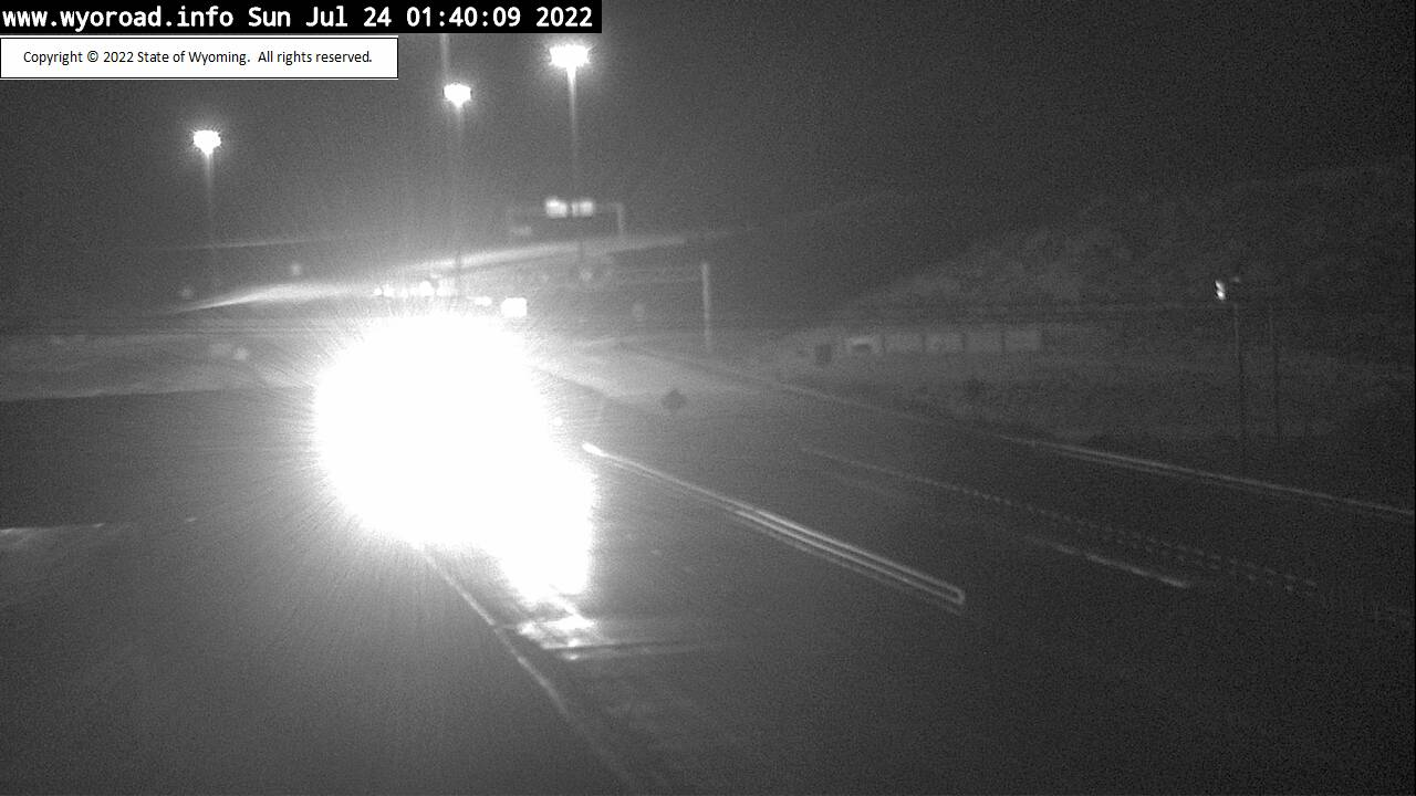 WYDOT Web Cam, I-80 near Rock Springs - View facing East