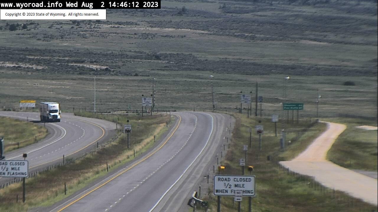 WYDOT I-80 Web Cam in Laramie