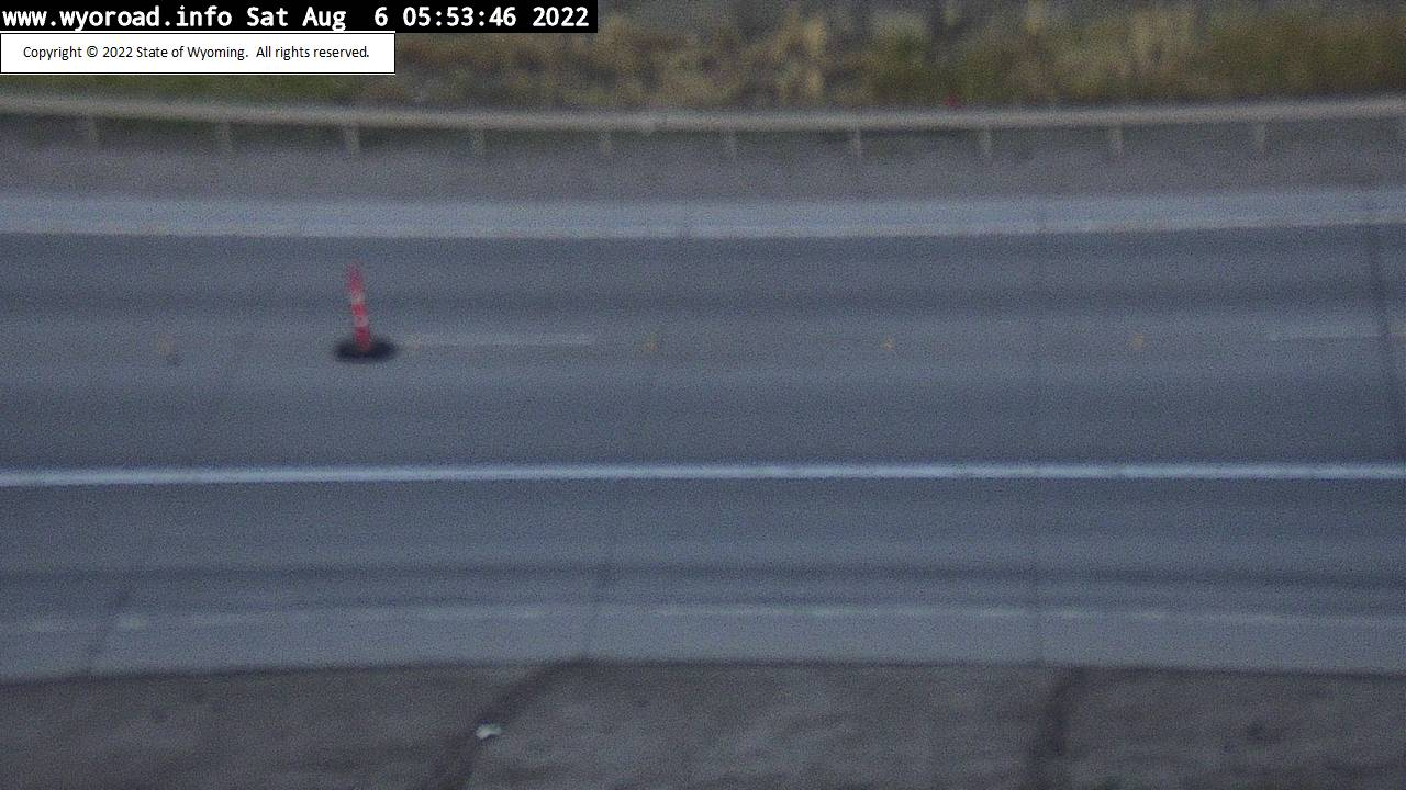 I 80 Pilot Butte - Road Surface