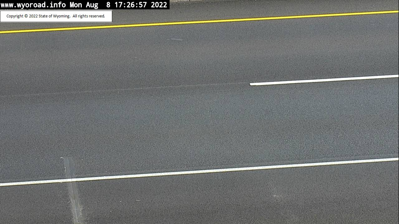 I 80 Quealy Dome - Road Surface