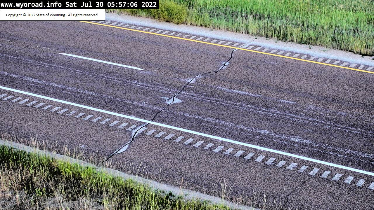 I 90 Montana State Line - Road Surface