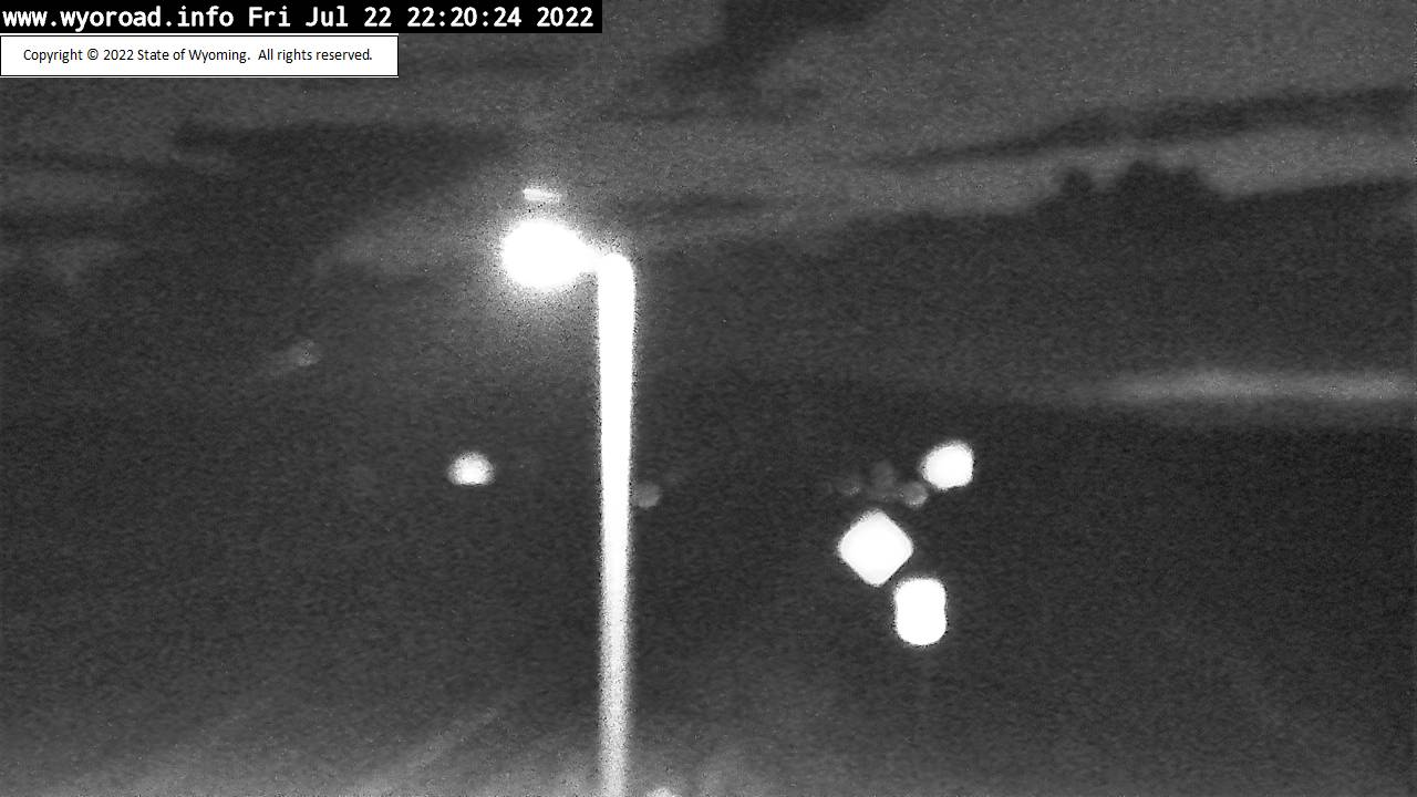 WYDOT Web Cam on US 191 by Trappers Point, between Pinedale and Daniel