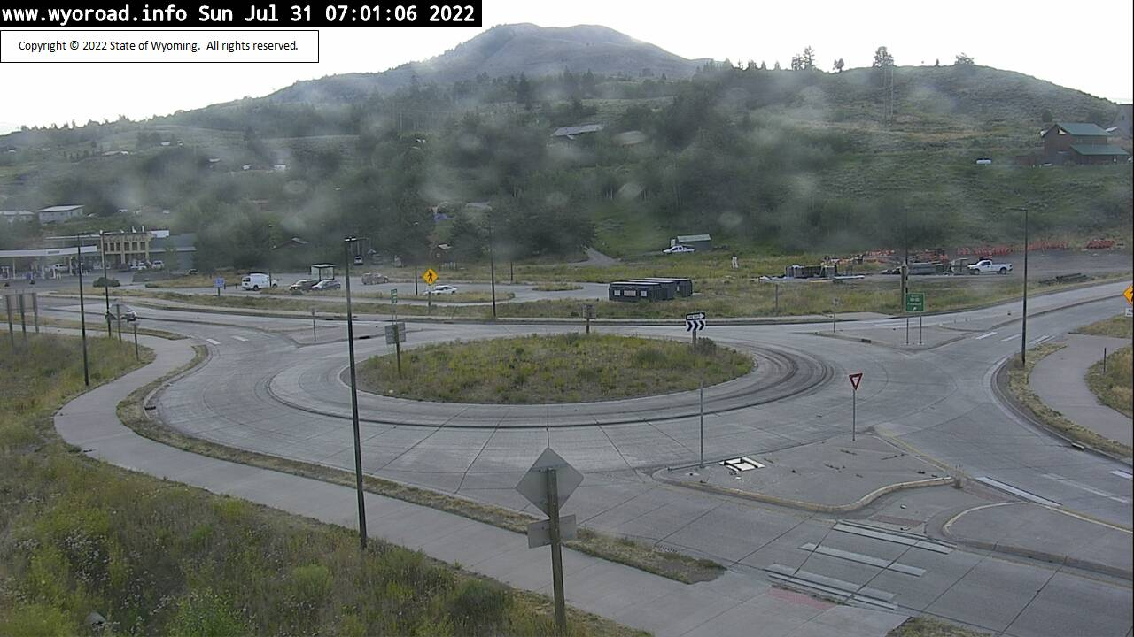 Hoback Junction Roundabout