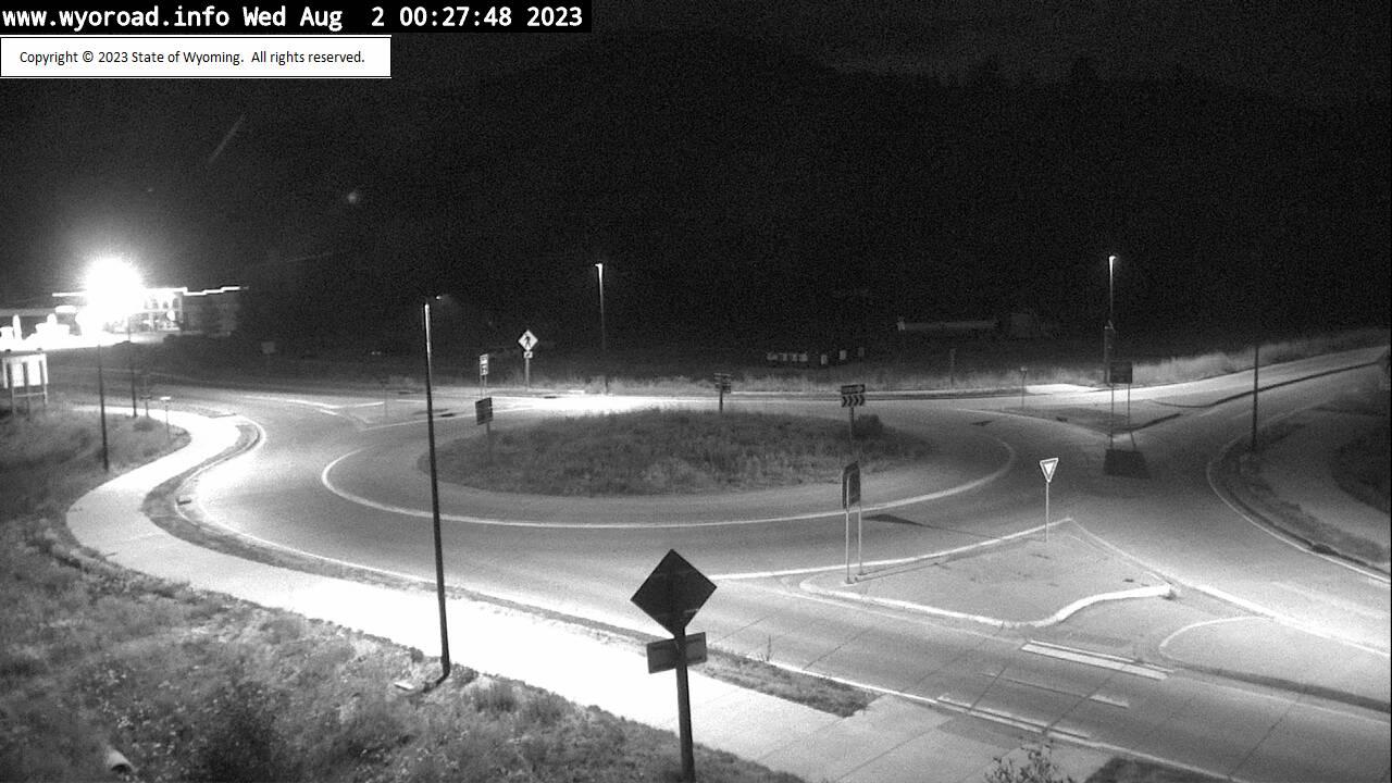 US 26/89 Hoback Junction - Roundabout