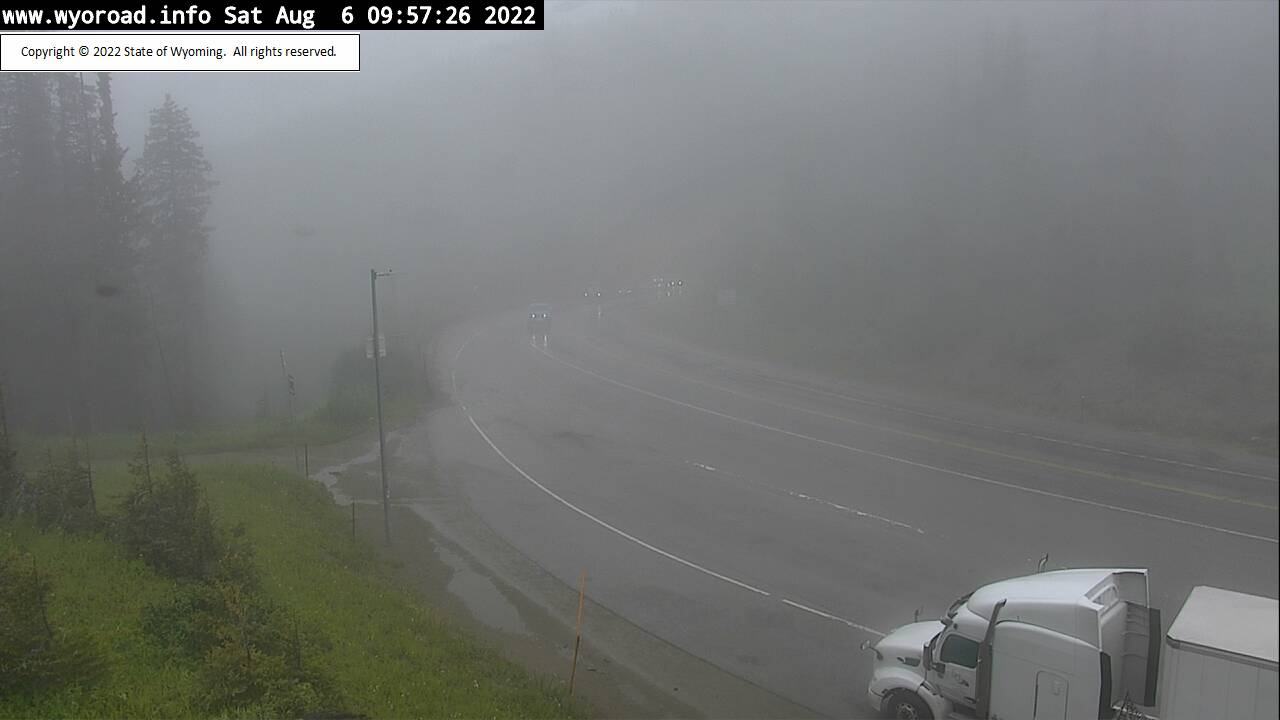 Teton Pass West Webcam - Jackson, WY