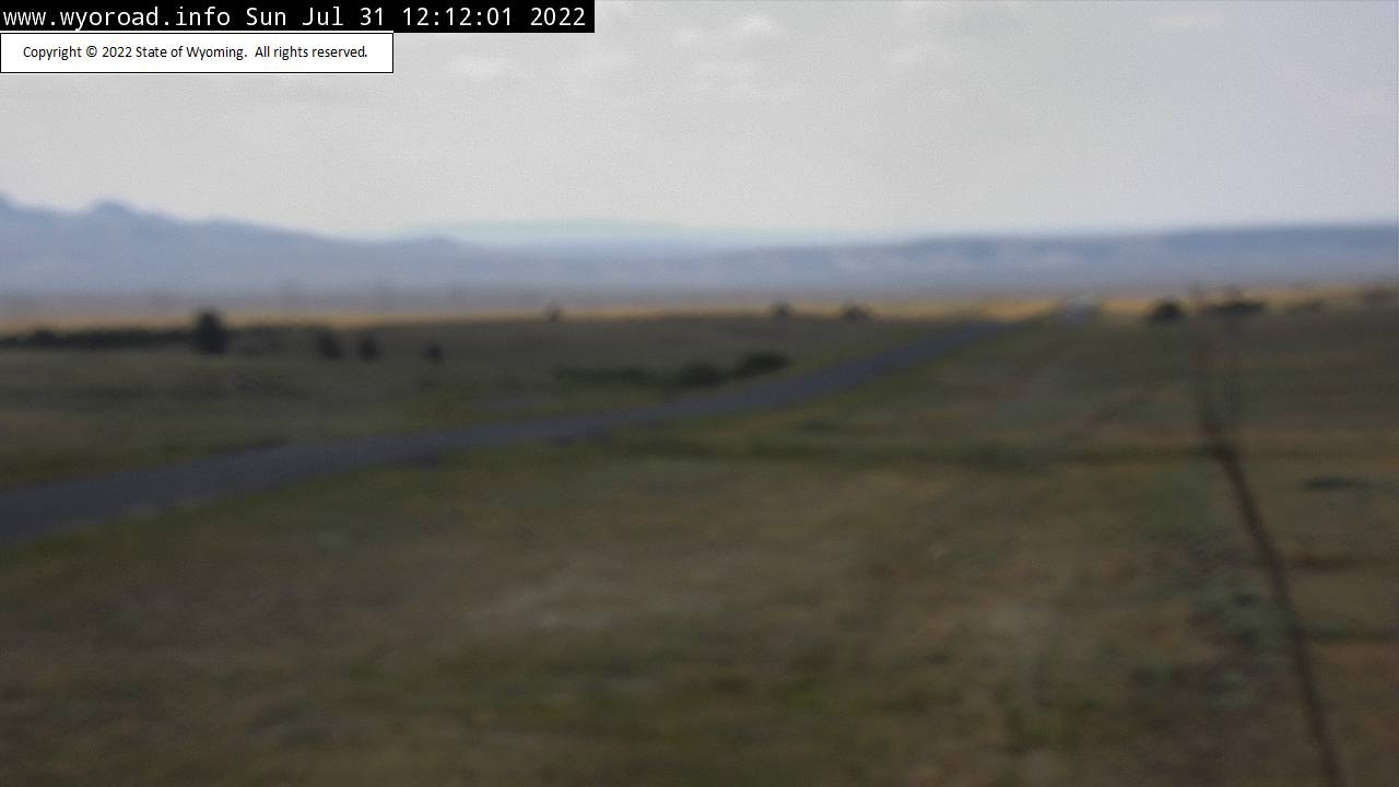 South Pass WYO 28 looking West, WYDOT webcam