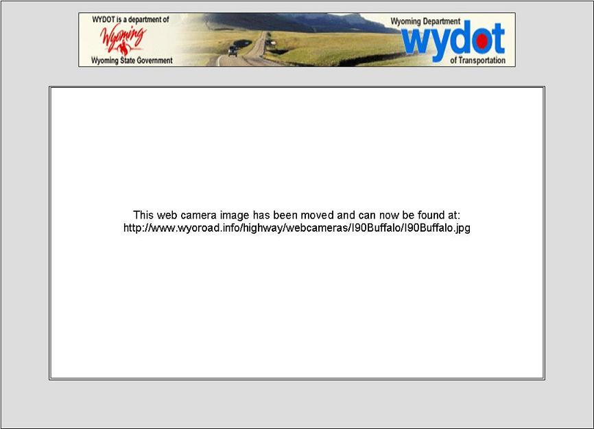 Webcam I 90 Buffalo WY Buffalo United States of America - Webcams Abroad live images