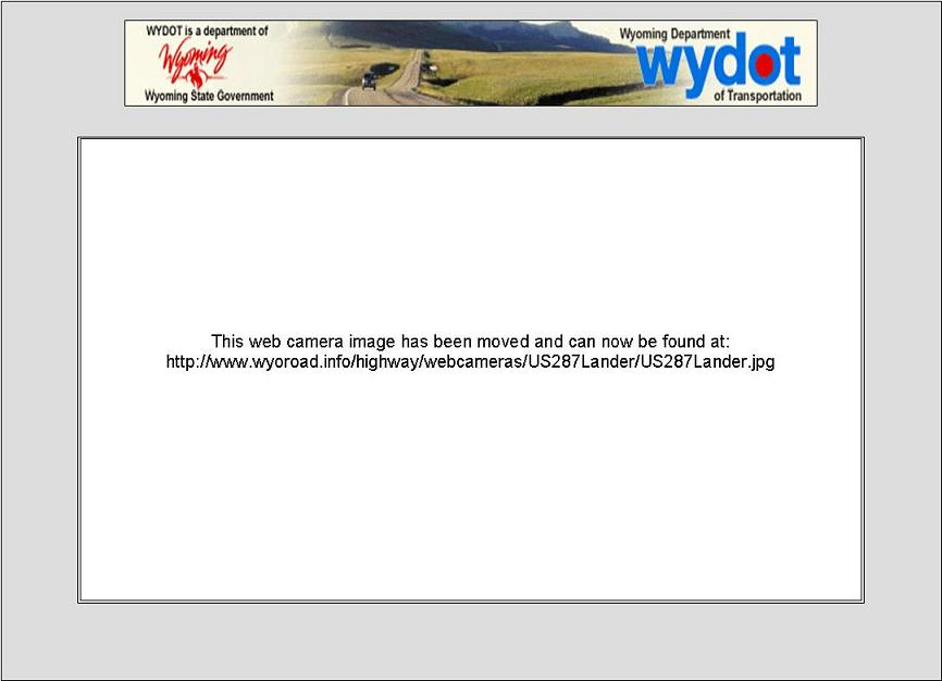 Webcam Lander WY Lander United States of America - Webcams Abroad live images